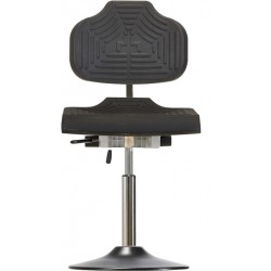 Krzesło na talerzu WS1210 ET ESD Classic siedzisko/oparcie z