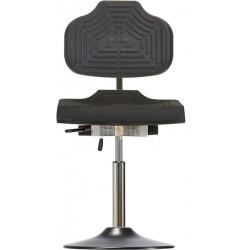 Leitfähiger Drehstuhl mit Tellerfuß WS1210 E T ESD Classic