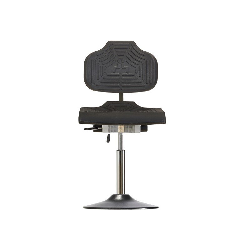 Chair with disc base WS1210 E T ESD Classic seat/backrest with