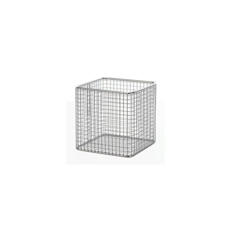 Basket 18/10-steel electrolytically LxWxH 180x180x150 mm