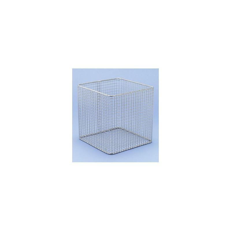 Basket 18/10 E-Poli LxWxH 200x200x150 mm