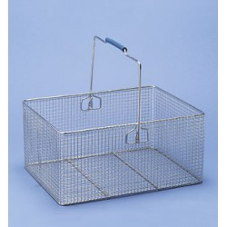 Basket with Handle (steel) wire LxWxH 400x300x200 mm