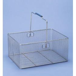 Drahtkorb mit Henkel (Stahl) LxBxH 400x300x200 mm
