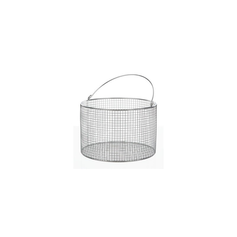 Basket with Handle Ø 80x100 mm18/10 steel electrolytically
