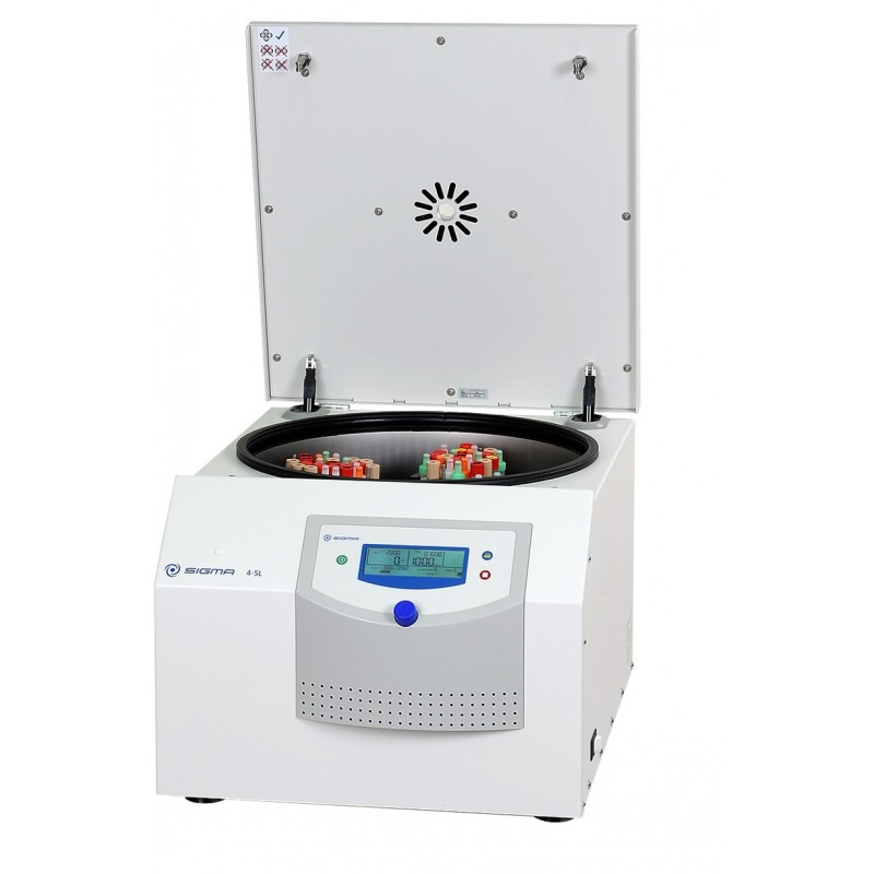 Benchtop centrifuge unrefrigerated Sigma 4-5L. incl. Rotor