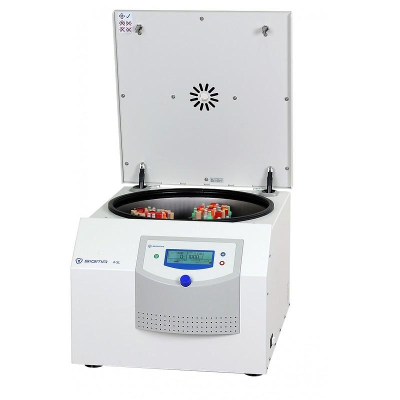 Tischzentrifuge ungekühlt Sigma 4-5L inkl. Rotor Becher Kappen