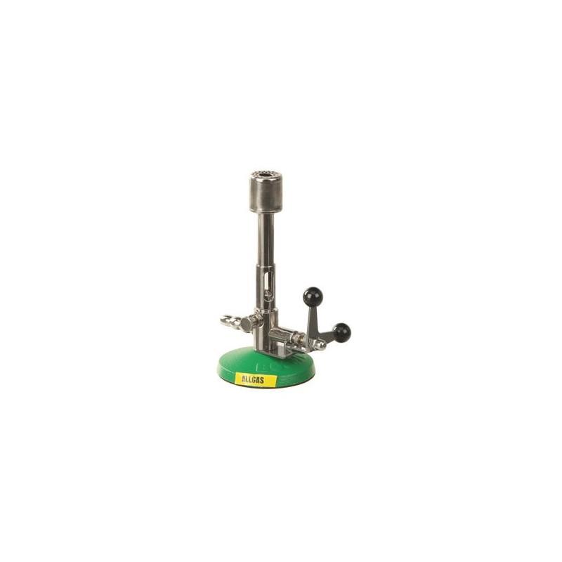 Allgasbrenner Bunsen ohne Sparflamme MS-NI KW 0,5-3 Kipphahn
