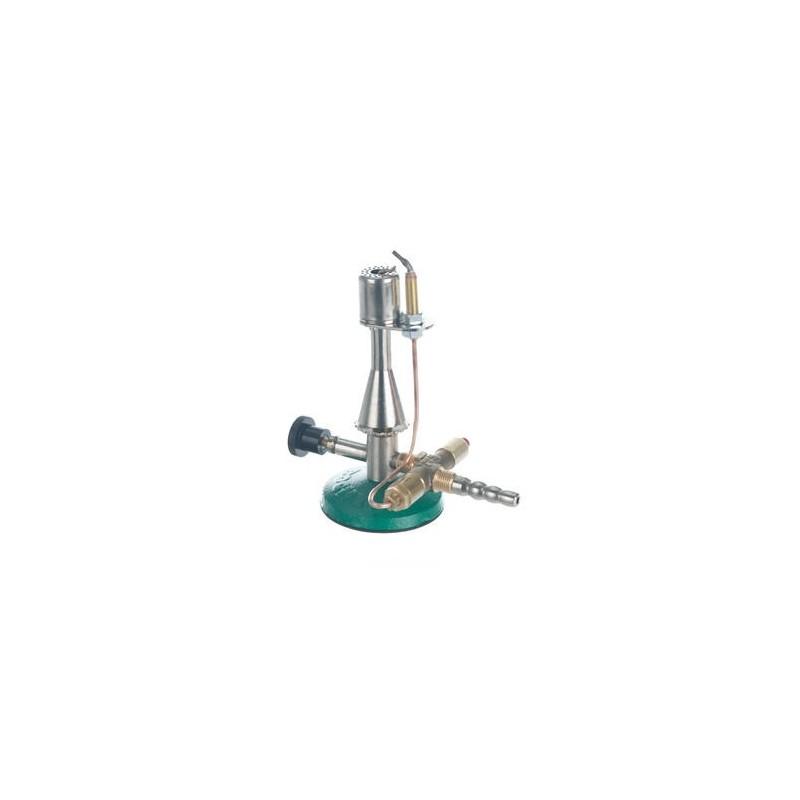 Safety gas burner MS-NI type propane gas KW 1,53 needle valve