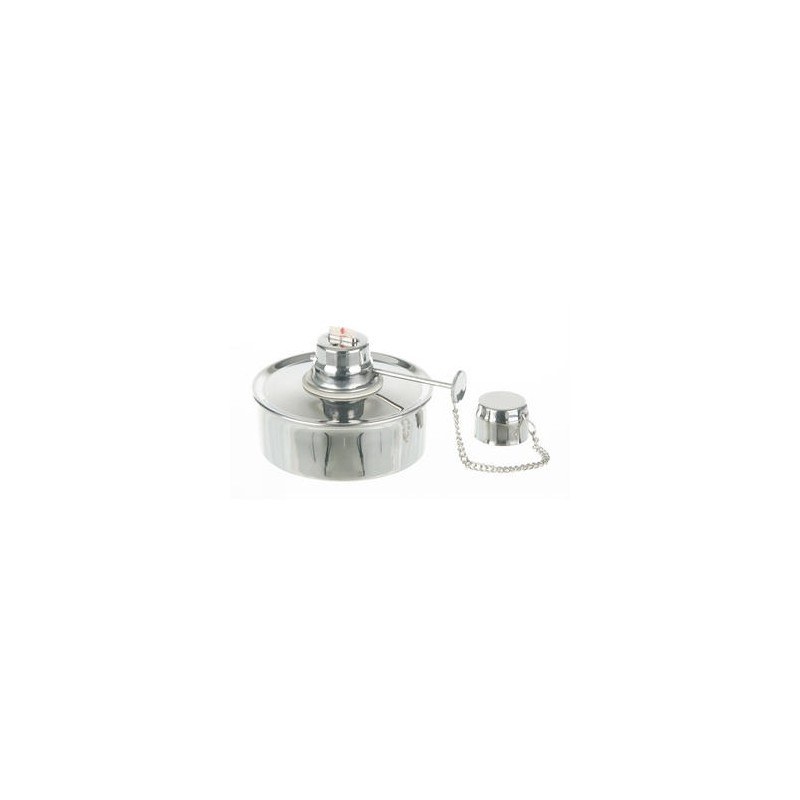 Alcohol burner 18/10 stainless steel