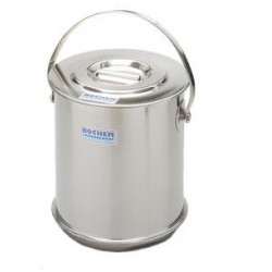Insulate container with lid double wall 18/10 stainless 5 L