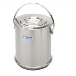 Isolierbehälter mit Deckel doppelwandig 18/10-Stahl 5 L