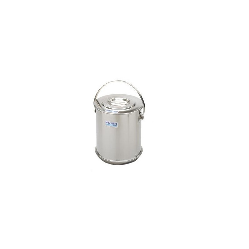 Insulate container with lid double wall 18/10 stainless 10 L