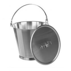 Lid 18/10 Steel for 12 L bucket