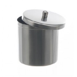 Dressing jar with lid 100 ml stainless steel 18/10