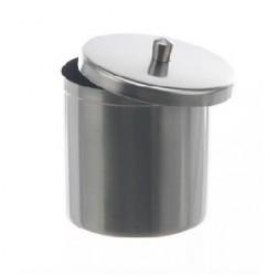 Deckelbüchse 400 ml 18/10 Stahl