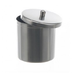 Dressing jar with lid 1200 ml stainless steel 18/10