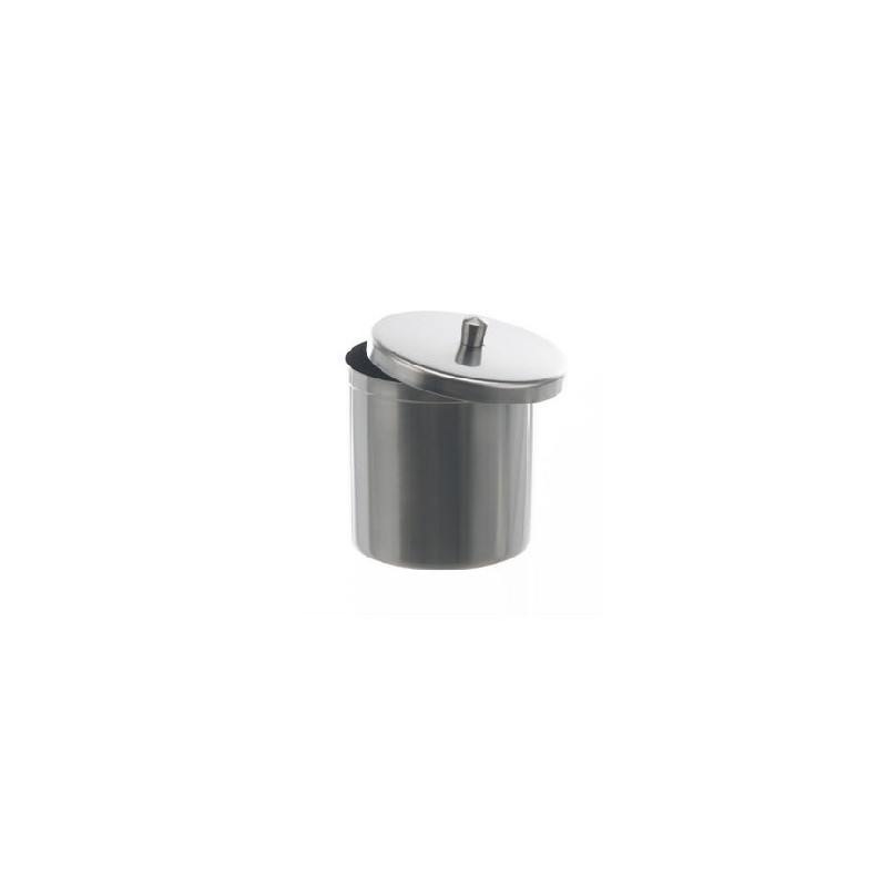 Deckelbüchse 1200 ml 18/10 Stahl