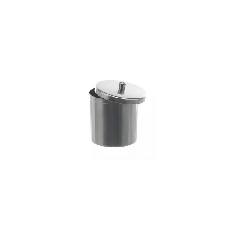 Deckelbüchse 2500 ml 18/10 Stahl