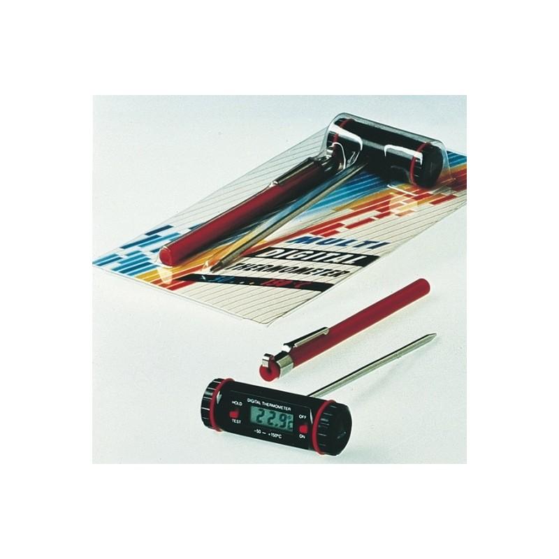 Digital Thermometer Multi -50...+200:0 1°C probe length 125 mm