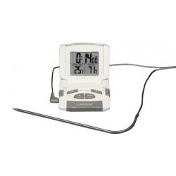 Küchen Thermometer mit Timer 0...+200:1°C