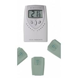 Multi-channel Thermometer Funk Thermometero -20...+60:0 1°C