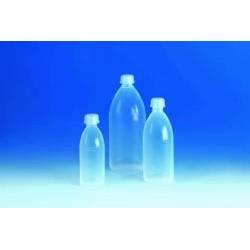 Enghalsflasche PFA 1000 ml mit Schraubkappe