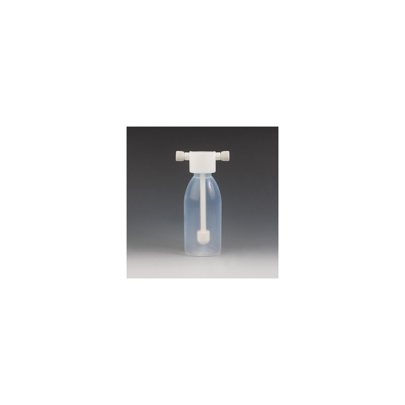 Gaswaschflasche PFA 500 ml PTFE Aufsatz und Fritte