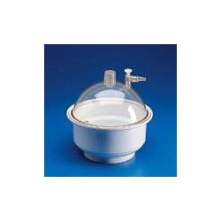 Desiccator PP/PC diameter 250 mm incl cover and nonreturn valve
