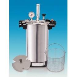 Benchtop steam sterilizer CertoClav EL 12 L 125/140 °C with