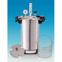 Benchtop steam sterilizer CertoClav EL 12 L 115/121 °C with