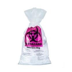 Disposable bag Biohazard PP 60L 600x800 mm 50 µm 134°C