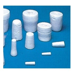 Cellulose stopper No. 23,5 for flaks with neck inside of