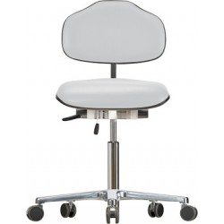 Chair with castors Classic WS1320 KL seat/backrest with