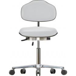 Krzesło na kółkach Classic WS1320KL siedzisko/oparcie ze