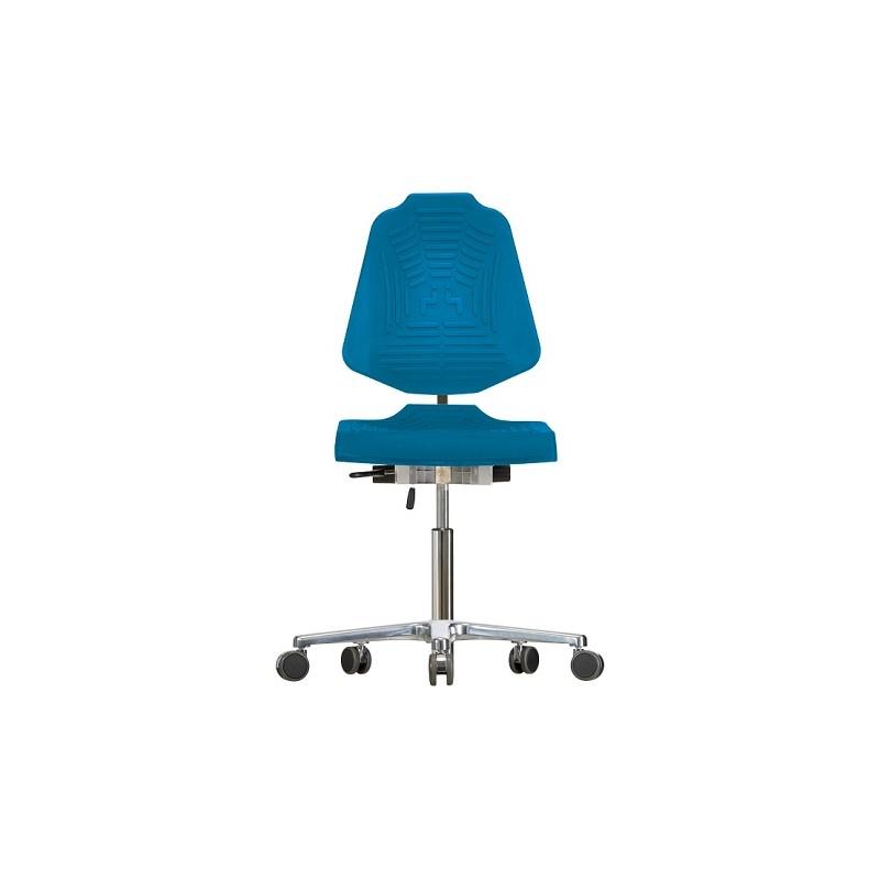 Drehstuhl Extrabreit mit Rollen Classic WS1220 E XL PUR-Sitz
