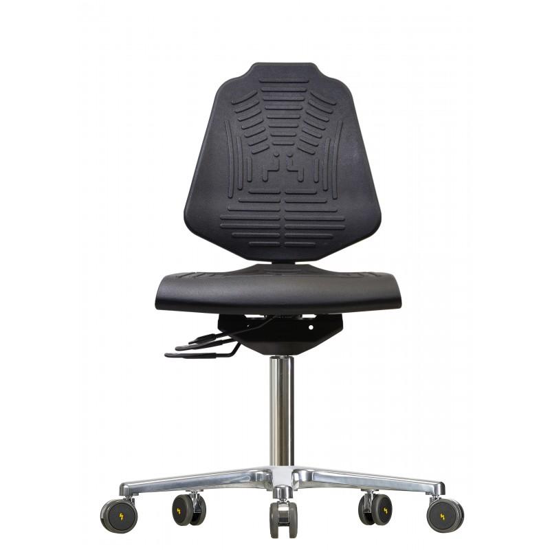 Drehstuhl mit Rollen Econoline WS 2220 XL Soft-PUR-Sitzund