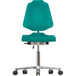 Chair with castors XL Classic WS1220 E XL seat/backrest with