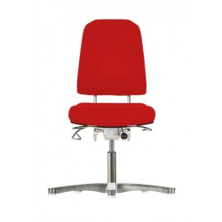 Chair with glides Klimastar WS9310 3D seat/backrest with 3D