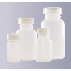 Weithalsflasche PP 250 ml autoklavierbar ohne Schraubverschluss