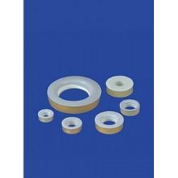 Einseitige Dichtung SILICON/PTFE für GL 25 A-Ø 22 mm I-Ø 8 mm