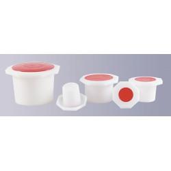 Octagonal Stopper plastic NS 34/35 PE-HD pack 10 pcs.