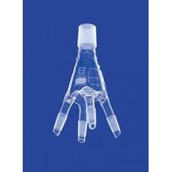 Destillatverteiler für Destilliervorlage nach Bredt Glas Kern