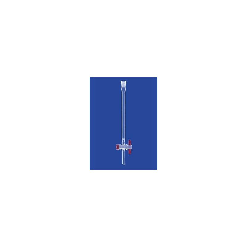 Kolumna chromatograficzna Por.0 gniazdo kurek PTFE szkło d 200