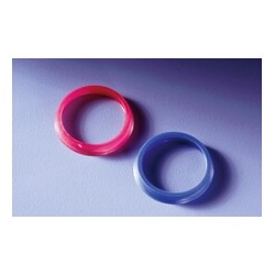 Pouring ring GL45 PP blue temperature resistance 140°C pack 10