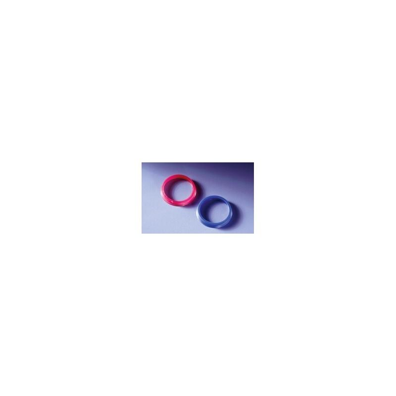 Ausgiessring GL45 PP blau Temperaturbeständigkeit 140°C VE 10