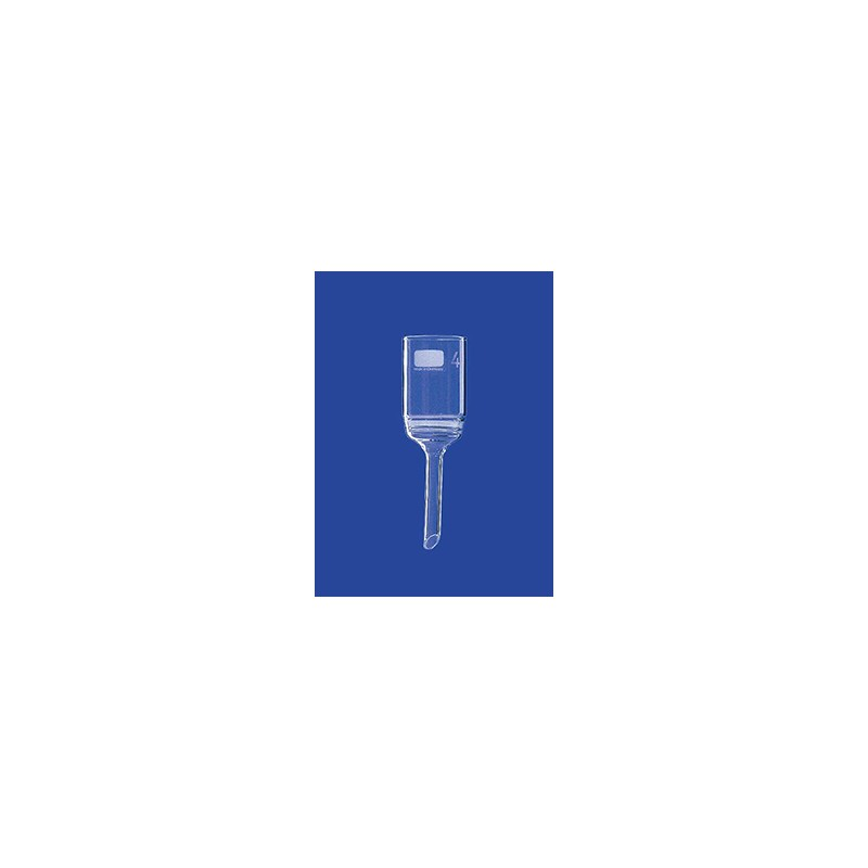 Filter funnel 4000 ml glass Porosity 2 Filter plate 175 mm