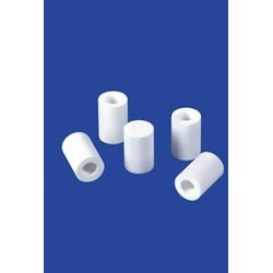 Filter plug cylindrical without tube glass Ø x Length 9 x 20 mm