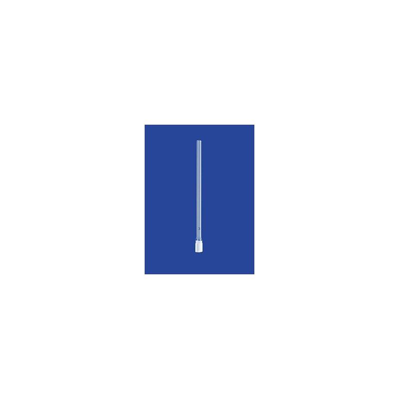 Filtr świecowy cylindryczy z rurą szkło Ø x długość 9 x 20 mm