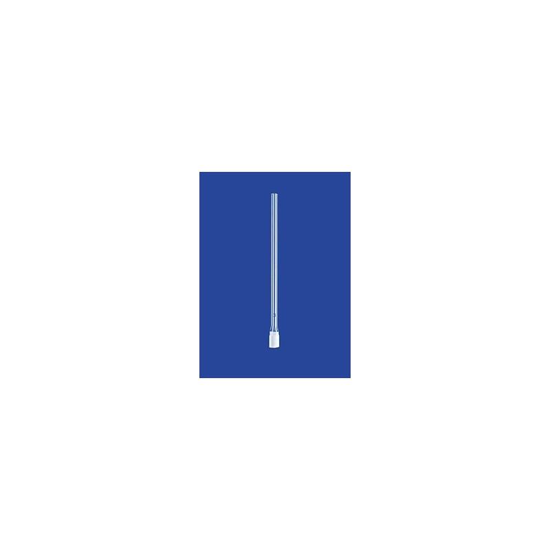 Filterkerze zylindrisch mit Rohr Glas Ø x Länge 9 x 20 mm