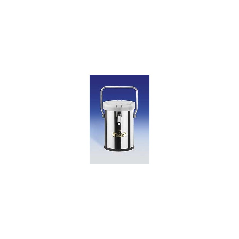 Dewar carrying flasks 2L with lid and handle Type 27 BE